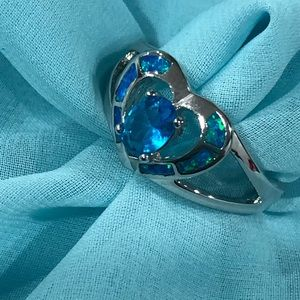 Jewelry - NWOT Sterling silver heart ring